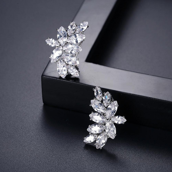 Elsa Bridal Stud Earrings