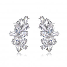 Elsa Bridal Stud Earrings