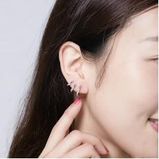 Sterling Silver Claw Earrings