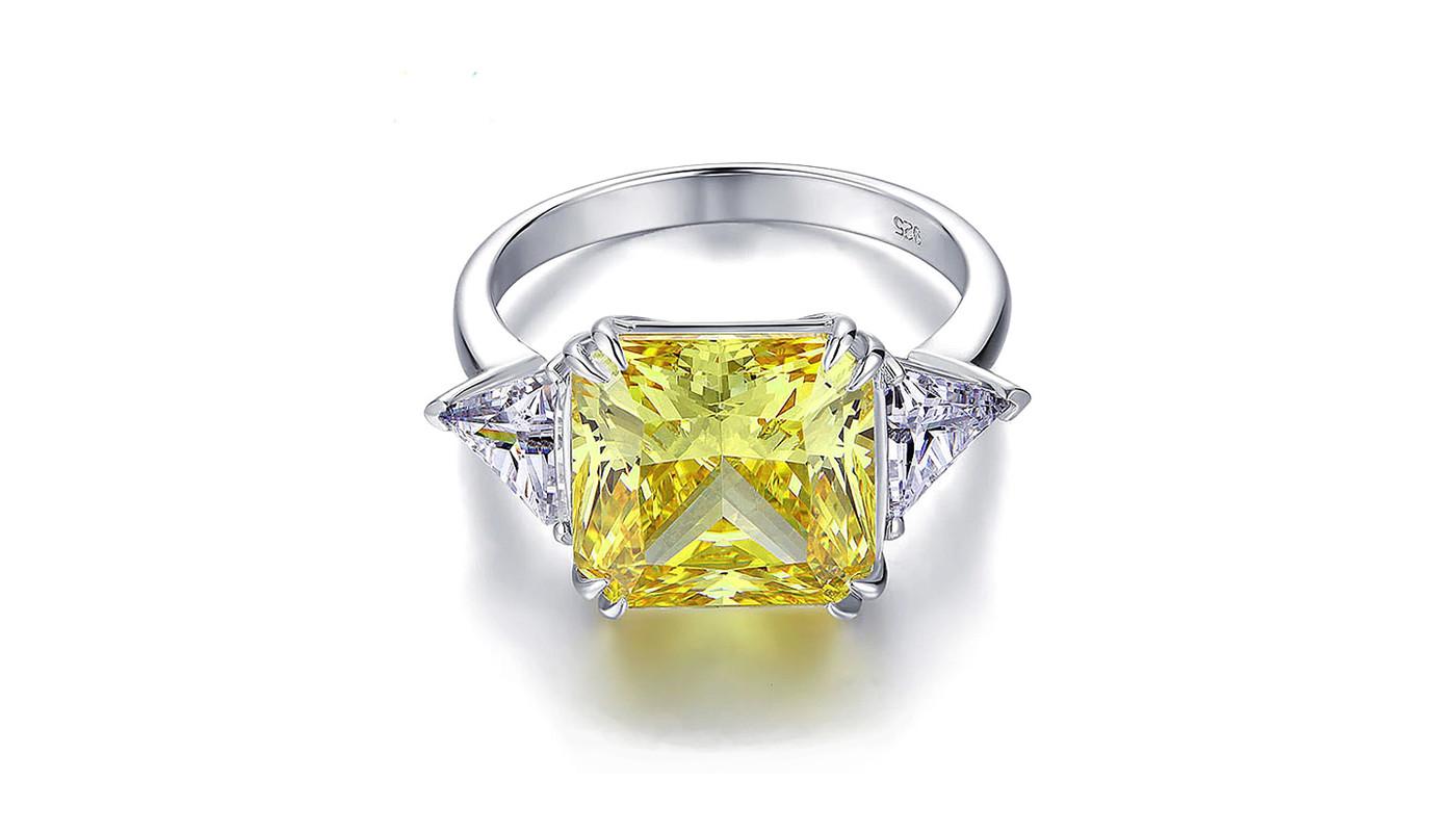 Engagement Ring Yellow