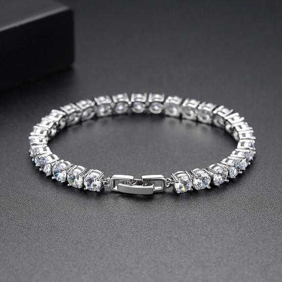 Classic Round Tennis Bracelet