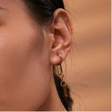 Long Chain Drop Earrings