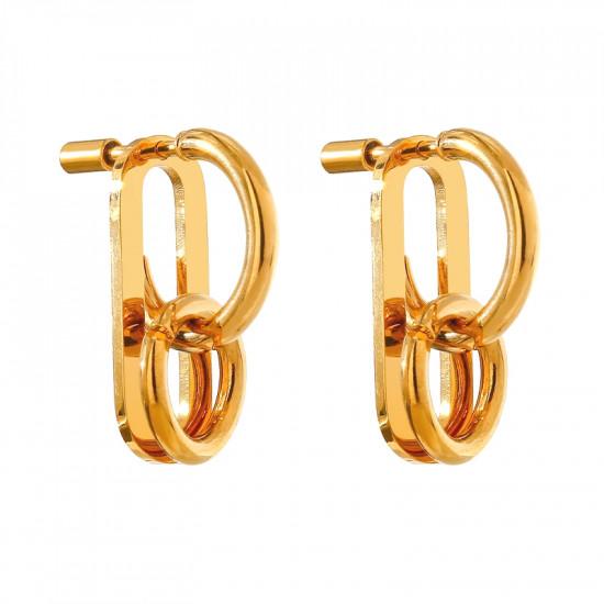 Buckle Stud Earrings