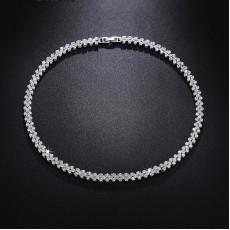 Roman Round Wedding Necklace