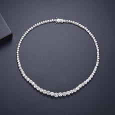 Elegant Round Wedding Necklace