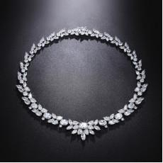 Royal Marquise CZ Diamond Necklace