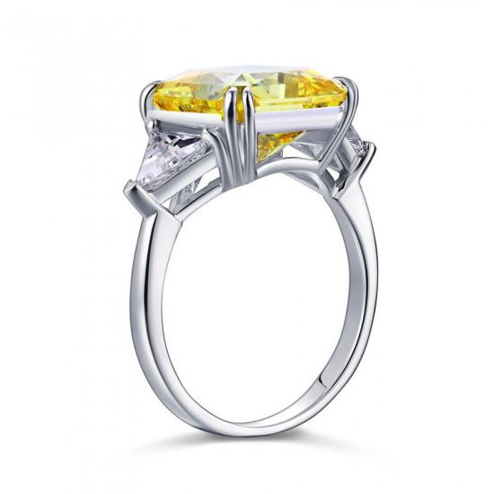 Royal Princess Engagement Ring Yellow